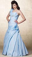 Alyce Designs One Shoulder Crumb-Catcher Evening Dress 6683 image