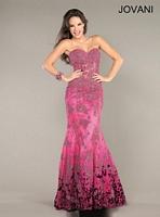 Jovani 6796 Taffeta Formal Dress image