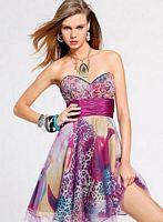 2011 Homecoming Dresses Faviana Short Party Dress 6810 image