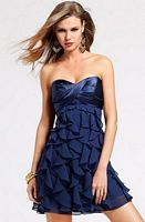 Faviana Short Ruffle Party Dress 6811 for Homecoming 2011 image