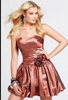 Faviana Shimmer Taffeta Short Dress for Homecoming 6825 image