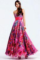 Faviana Lipstick Print Prom Dress 6901 image