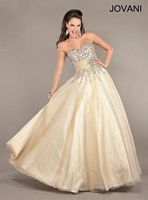 Jovani Ball Gown 6904 with Beading image