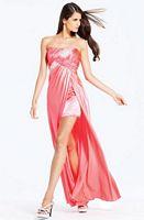 Faviana Beaded High Low Prom Dress 6907 image