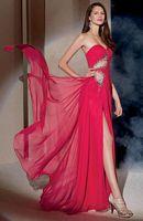 Alyce Paris 6950 Chiffon Evening Dress with Keyhole image