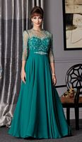 Caterina 7017 Mother of the Bride Dress with Illusion image