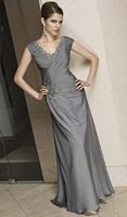 VM Collection Cap Sleeve Evening Dress for Mothers 70208 by Mori Lee image
