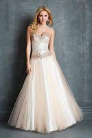 Night Moves 7028 Shimmering Formal Dress image