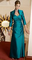 Size 2 Mediterranean VM Collection Mother of the Bride Dress 70318 image