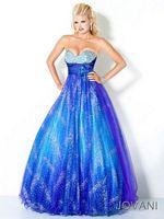 Jovani 706 Jewel Encrusted Evening Dress image