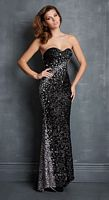 Night Moves 7077 Sequin and Stone Gown image