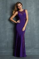Night Moves 7088 Jersey and Lace Evening Dress image