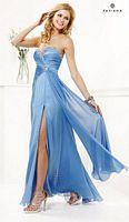 Faviana 7102 Iridescent Chiffon Evening Dress image