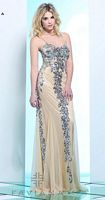 Faviana 7113 Sequin Chiffon Evening Dress image