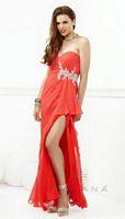Faviana 7125 Beaded Chiffon Formal Dress image