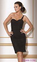 Jovani Black Beige Evening Dress 71510 image