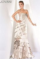 Jovani Evenings Dress with Removable Long Skirt 71781 image