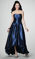 Alfred Angelo High Low Bubble Bridesmaid Dress 7184 image