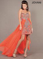 Jovani High Low Dress with Detachable Skirt 72633 image