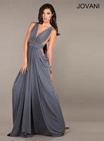 Jovani 72644 Plunging Neck Formal Dress image