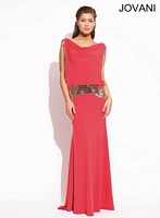 Jovani 72693 Mirror Beaded Formal Dress image