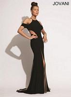 Jovani 72823 Formal Dress with Sheer Panels image