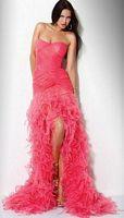 Multi Tiered Ruffle Jovani Evening Dress 7333 image