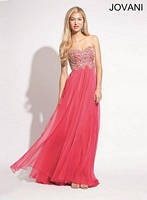 Jovani 73377 Beaded Embroidered Gown image