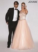 Jovani 73378 A-Line Tulle Formal Dress image