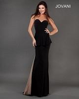 Jovani 73539 Formal Dress with Peplum image