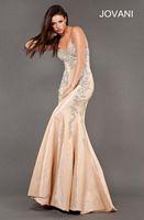 Jovani 73544 Beaded Mermaid Dress image