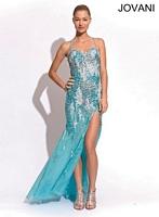 Jovani 73830 Open Back Formal Dress image
