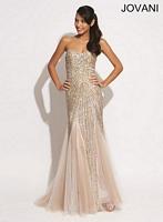 Jovani 73837 Sequin Mermaid Formal Dress image