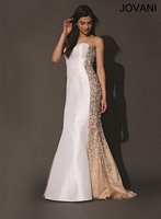 Jovani 73842 Silk Mermaid Formal Dress image