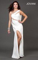 Jovani 73893 Illusion Cutout Formal Dress image