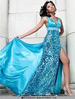 Riva Designs Sparkle Prom Dress 7405 image