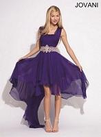 Jovani 74182 Formal Dress with Chiffon Train image