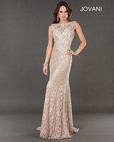 Jovani 74194 Open Back Formal Dress image