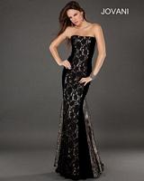 Jovani 74205 Lace Mermaid Dress image