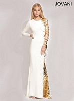 Jovani 74272 Jersey Evening Dress image
