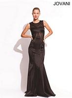 Jovani 74294 Silk Panel Evening Dress image