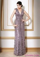 Jovani Steel Evening Dress 7434 image