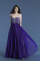 Dave and Johnny 7608 Beaded Formal Dress image