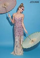 Jovani 77479 Colorful Beaded Formal Dress image
