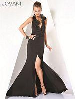 Jovani Black Evening Dress 7751 image