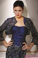 Jovani Taffeta Embroidered Mermaid Evening Dress 7781 image