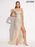 Jovani 77890 Beaded Mermaid Dress image