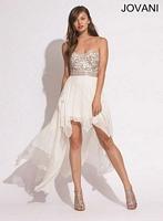 Jovani 78016 High Low Party Dress image