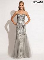 Jovani 78164 Beaded Mermaid Dress image