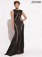 Jovani 78199 Silk Mermaid Gown image